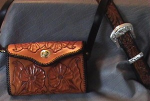 Purse and belt